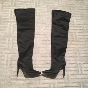 Kendall + Kylie! Over the knee boots